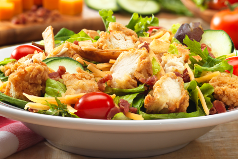 Frisch's Crispy Chicken Salad
